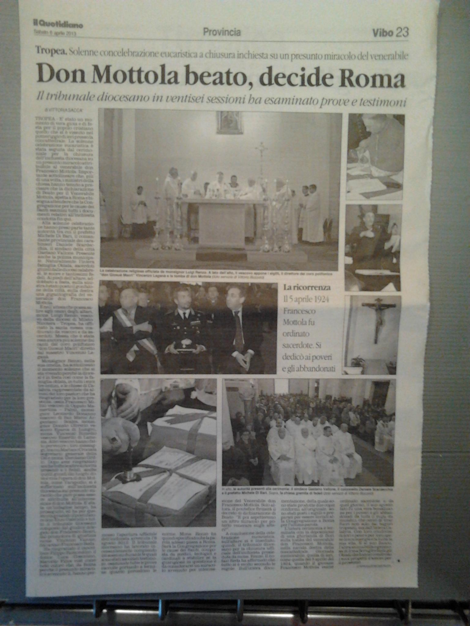 quotidiano del 6 aprile