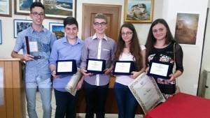 gli studenti premiati