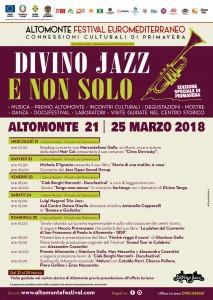 manifesto programma divino jazz